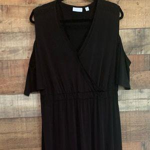 New York and Company black maxi dress, size XXL